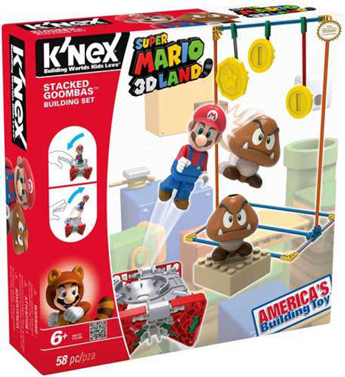 K'NEX Super Mario 3D Land Stacked Goomba's Set #38419 [Damaged Package]