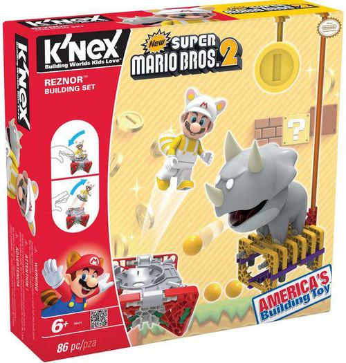 K'NEX New Super Mario Bros 2 Reznor Set #38421 [Damaged Package]