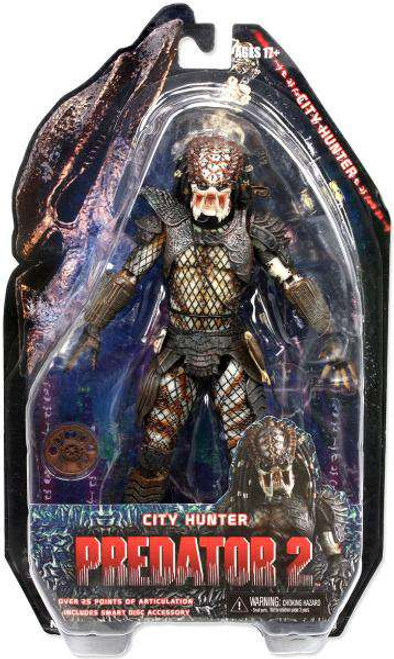 NECA Predator 2 Series 4 City Hunter Action Figure [Damaged Package]