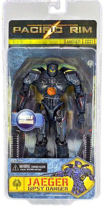 NECA Pacific Rim Series 2 Gipsy Danger Action Figure [Battle Damaged, Damaged Package]
