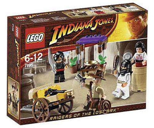 LEGO Indiana Jones Ambush in Cairo Set #7195 [Damaged Package]