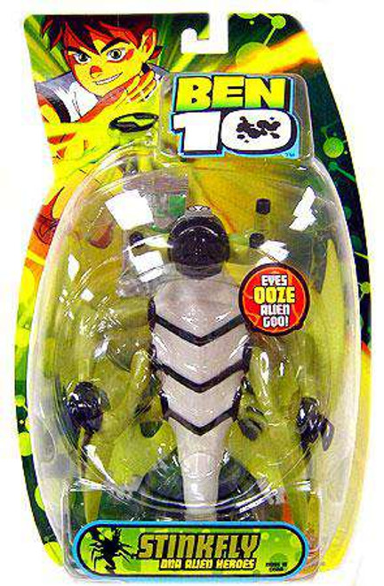 Ben 10 DNA Alien Heroes Stinkfly Action Figure [Damaged Package]