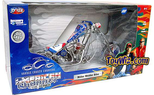 American Choppers Miller Welder Bike Diecast Vehicle [Damaged Package]