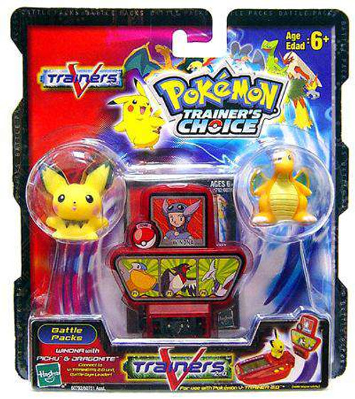 Pokemon Trainer's Choice V-Trainers Winona with Pichu & Dragonite Battle Pack [Loose]