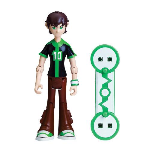 Ben 10 Omniverse Ben Action Figure [16 Years Old, Black & Green Shirt, Loose]