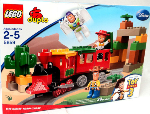 LEGO Duplo Toy Story 3 Great Train Chase Set #5659 [Damaged Package]