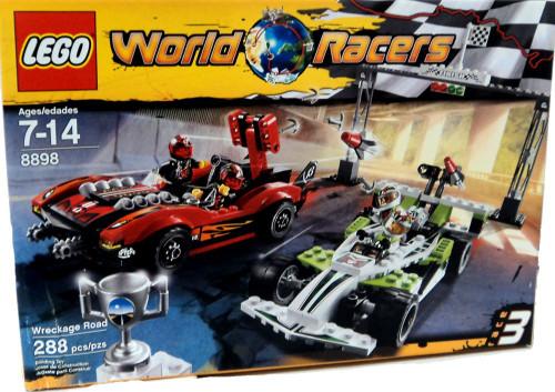 LEGO World Racers Wreckage Road Set #8898 [Damaged Package]
