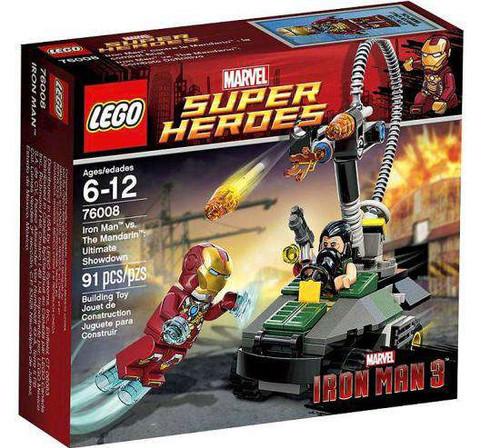 LEGO Marvel Super Heroes Iron Man 3 Iron Man vs. The Mandarin: Ultimate Showdown Set #76008 [Damaged Package]