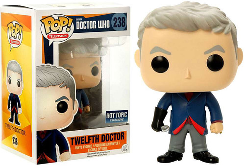Funko Doctor Who POP! TV Twelfth Doctor Exclusive Vinyl Figure #238 [Spoon, Damaged Package]