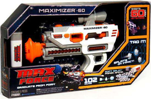 Max Force Long Range Maximizer 60 Roleplay Toy [Damaged Package]