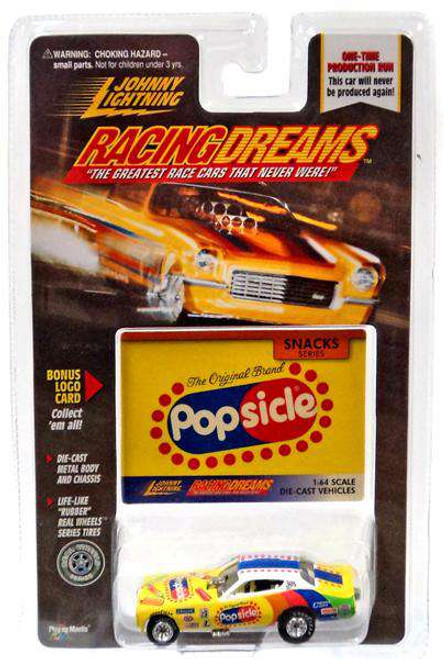 Johnny Lightning Racing Dreams Popsicle Diecast Car [Damaged Package]