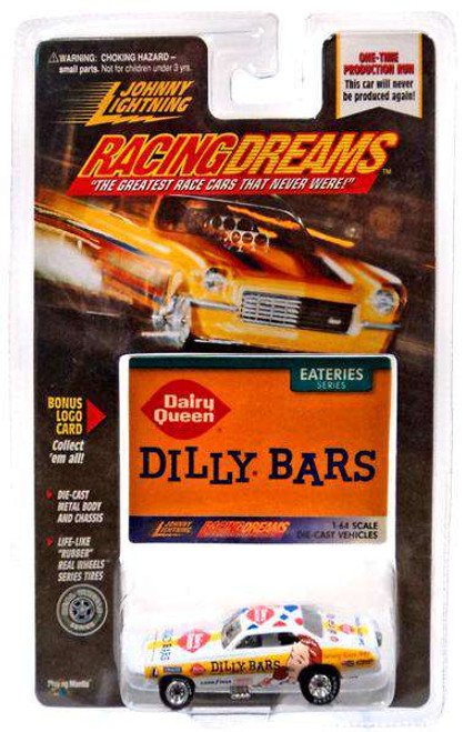 Johnny Lightning Racing Dreams Dilly Bars Diecast Car [Damaged Package]