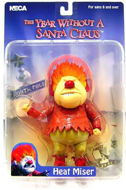 NECA Year Without Santa Claus Heat Miser Action Figure [Damaged Package]