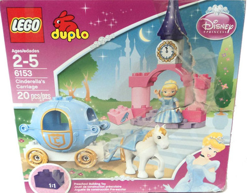 LEGO Duplo Disney Princess Cinderella's Carriage Set #6153 [Damaged Package]