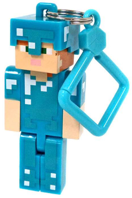 Minecraft Hangers Series 3 Diamond Alex 3-Inch Keychain [Loose]