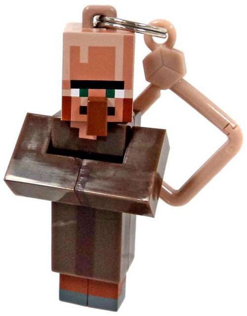 Minecraft Hangers Series 3 Villager 3-Inch Keychain [Loose]