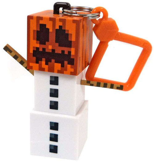 Minecraft Hangers Series 3 Snow Golem 3-Inch Keychain [Loose]