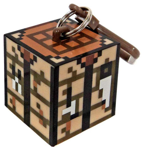 Minecraft Hangers Series 3 Crafting Table 3-Inch Keychain [Loose]