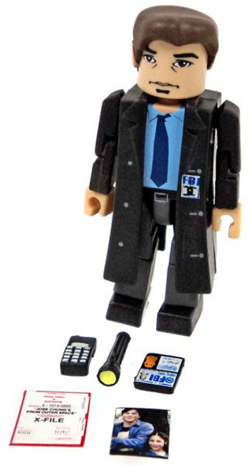 X-Files PALz Series 2 Special Agent Fox Mulder Mini Figure [Trenchcoat Loose]