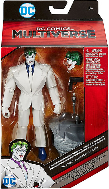 DC Batman Dark Knight Returns Multiverse King Shark Series The Joker Action Figure