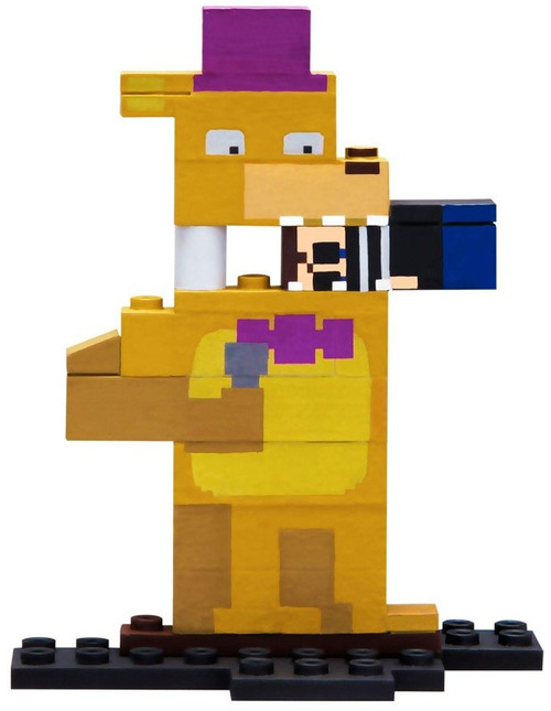 McFarlane Toys Five Nights at Freddy's 8-Bit Series 2 The Bite Buildable Figure #12674 [The Brother Piece!]