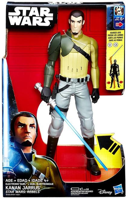 Star Wars Rebels Electronic Duel Kanan Jarrus Action Figure