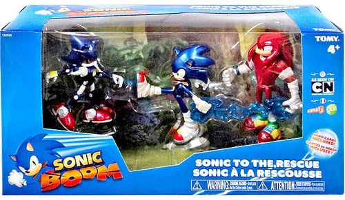 Sonic The Hedgehog Sonic Boom Sonic to the Rescue Action Figure 3-Pack