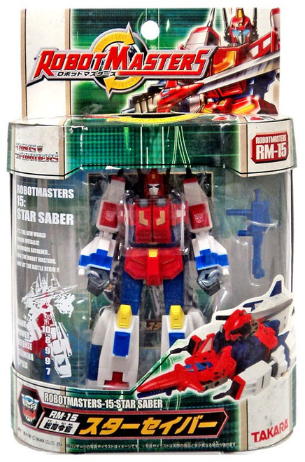 Transformers Japanese Robot Masters Star Saber Action Figure RM-15