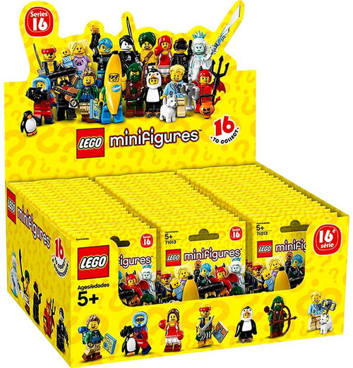 LEGO Minifigures Series 16 Mystery Box [60 Packs]