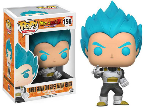 Funko Dragon Ball Z POP! Animation Super Saiyan God Super Saiyan Vegeta Vinyl Figure #156 [Resurrection of F]
