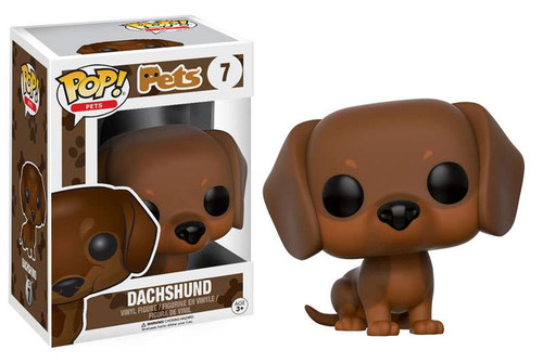 Funko POP! Pets Dachshund Vinyl Figure #7 [Light Brown]