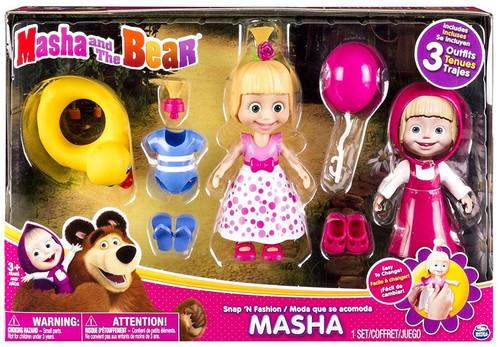 Masha and the Bear Snap 'N Fashion Masha Exclusive Playset [Style 1]