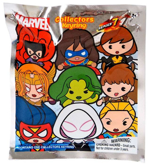 3D Figural Keyring Marvel Series 7 Mystery Pack