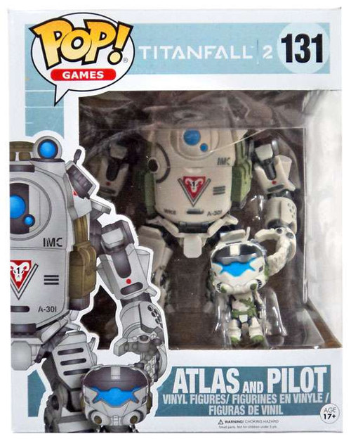 Funko Titanfall 2 POP! Games Atlas and Pilot Exclusive Vinyl Figure #131