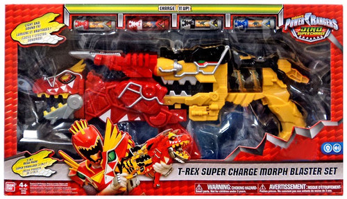 Power Rangers Dino Super Charge T-Rex Super Charge Morph Blaster Set Exclusive