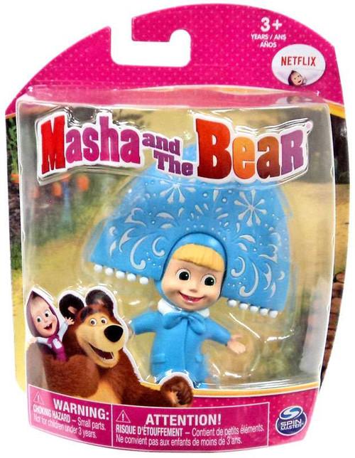 Masha and the Bear Snow Maiden Masha 3-Inch Figure
