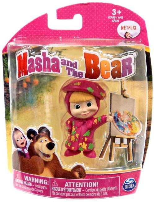 Masha and the Bear Painter Masha 3-Inch Figure