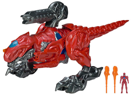 Power Rangers Movie T-Rex Zord with Red Ranger Action Figure