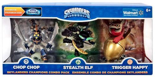 Skylanders Imaginators Chop Chop, Stealth Elf & Trigger Happy Exclusive Figure 3-Pack