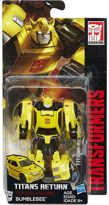 Transformers Generations Titans Return Bumblebee Legend Action Figure