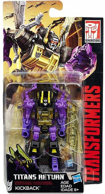 Transformers Generations Titans Return Kickback Legend Action Figure