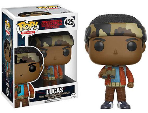 Funko Stranger Things POP! TV Lucas Sinclair Vinyl Figure #425