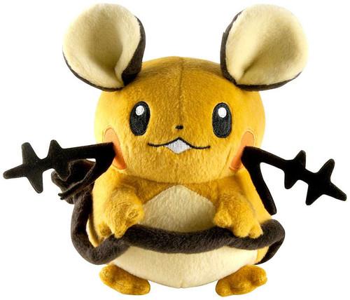 Pokemon Dedenne 6-Inch Plush [Mouth Closed]