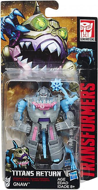 Transformers Generations Titans Return Gnaw Legend Action Figure