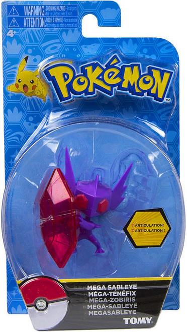 Pokemon Action Pose Mega Sableye 3-Inch Mini Figure
