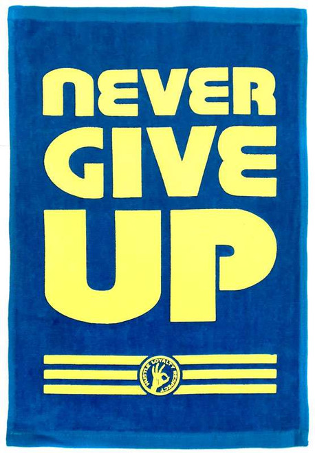 WWE Wrestling John Cena Never Give Up Rally Towel
