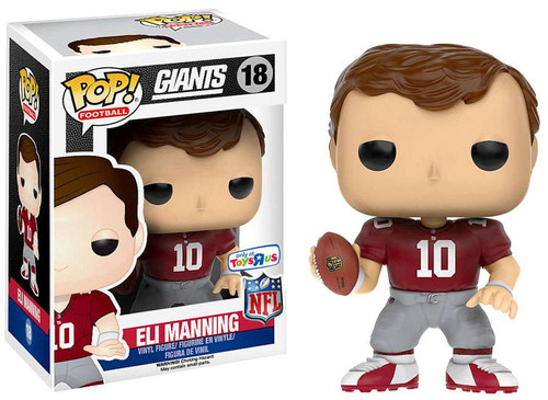 Funko NFL New York Giants POP! Sports Football Eli Manning Exclusive Vinyl Figure #18 [Throwback Red Jersey]