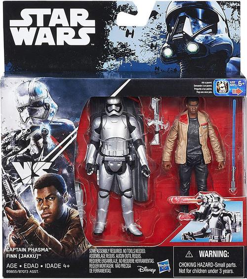 Star Wars The Force Awakens Captain Phasma & Finn (Jakku) Action Figure 2-Pack