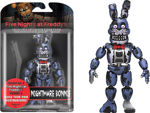 Funko Five Nights at Freddy's Series 2 Nightmare Bonnie Action Figure [Build Nightmarionne Part]