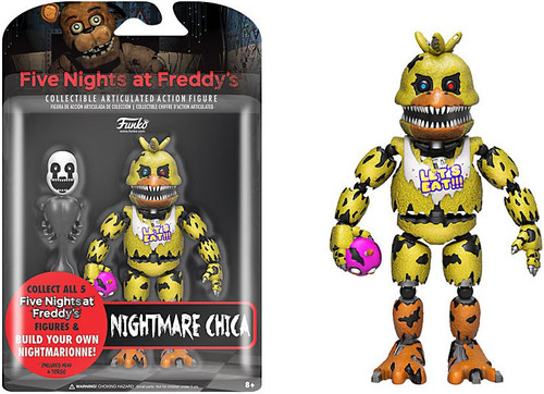 Funko Five Nights at Freddy's Series 2 Nightmare Chica Action Figure [Build Nightmarionne Part]